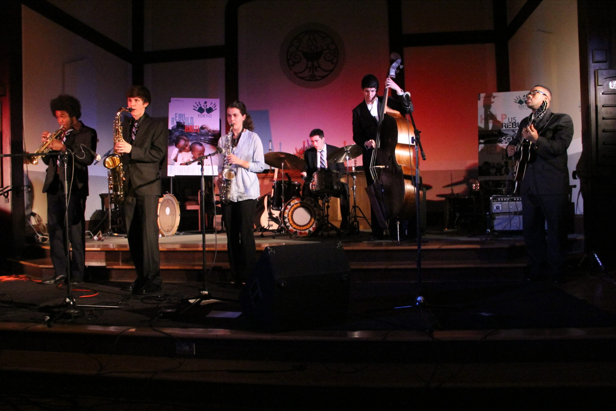 Emerging musicians community concerts emc2 hire a jazz for Jazz house music