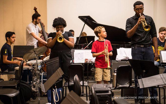 Summer Workshop brass class