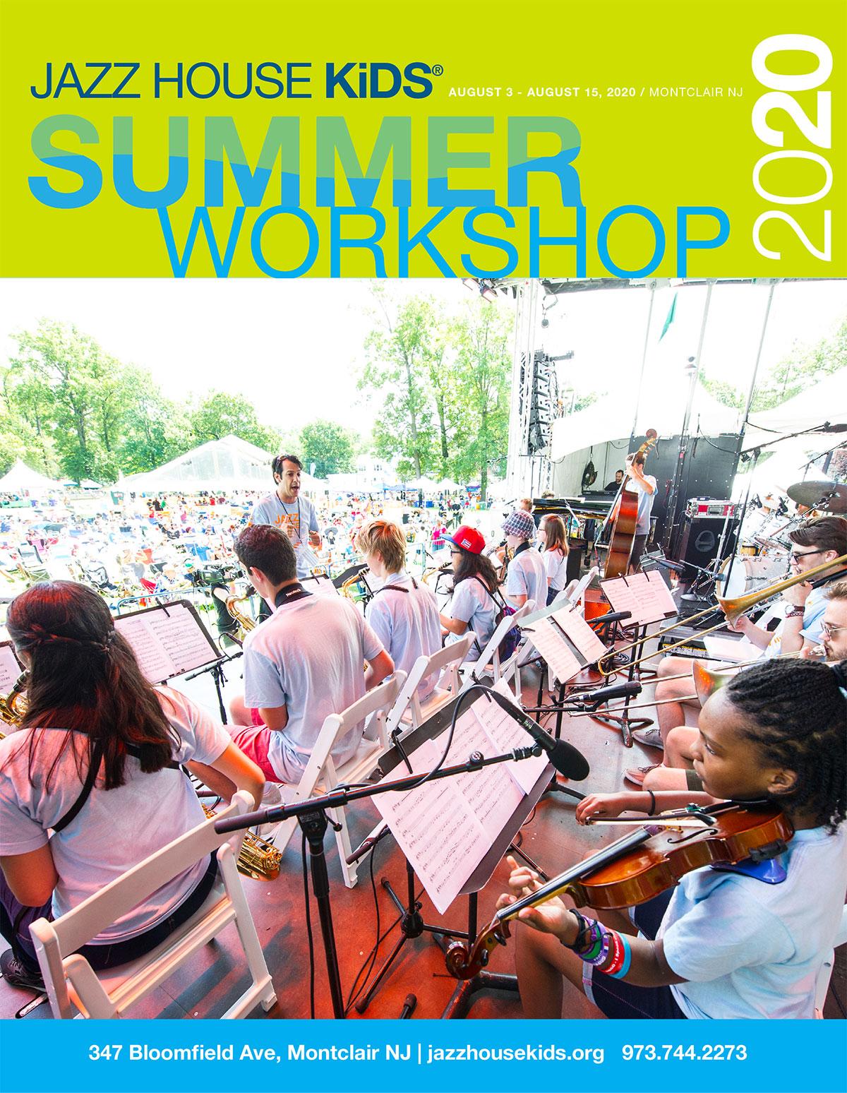 JAZZ HOUSE KiDS Summer Workshop 2020