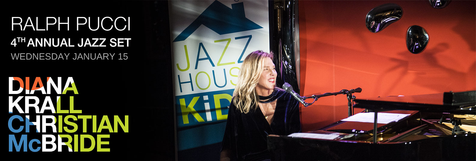 Recap of Ralph Pucci 4th Annual Jazz Set featuring Diana Krall and Christian McBride