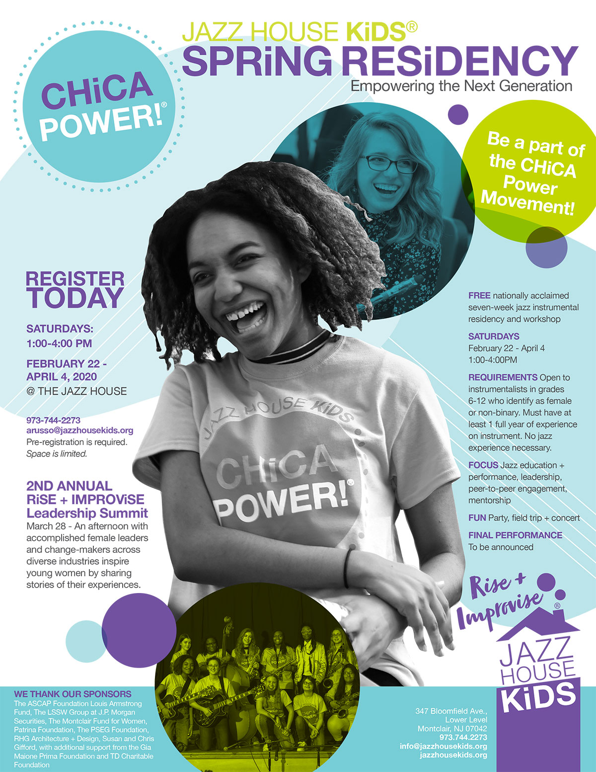 CHiCA Power 2020 with JAZZ HOUSE KiDS