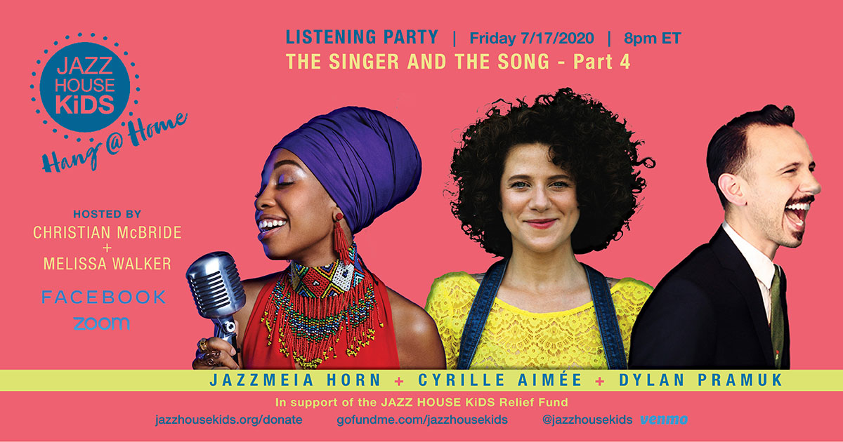 Hang @ Home Listening Party - The Singer + The Song Part 4