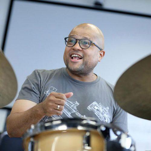 Drummer Alvester Garnett
