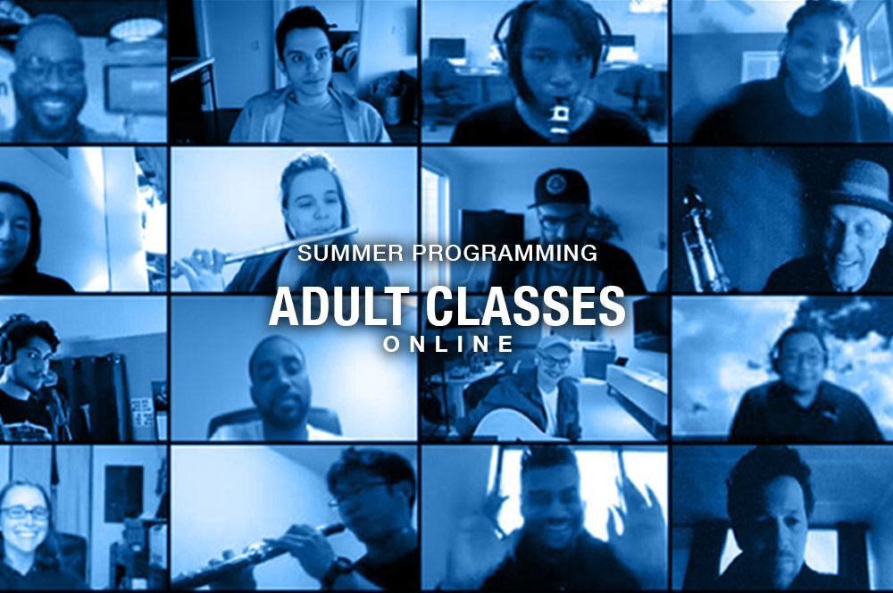 Adult Summer Classes Online