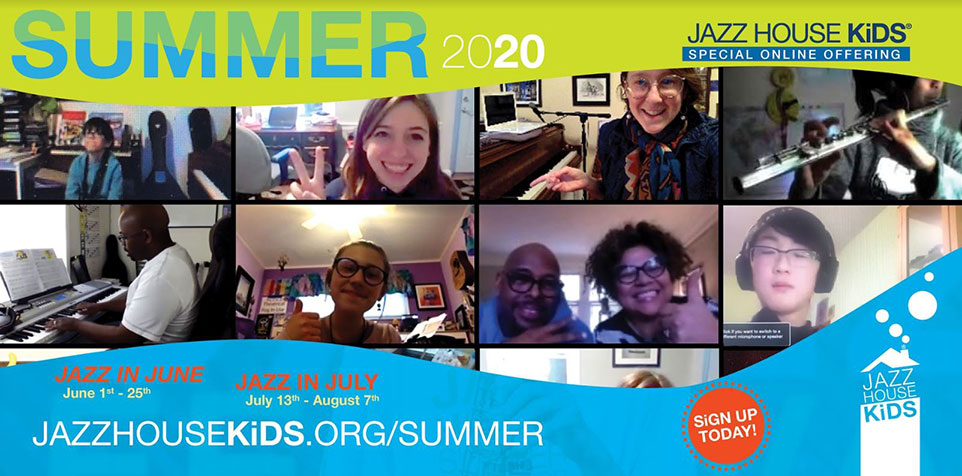 2020 Jazz House Kids Summer Programs