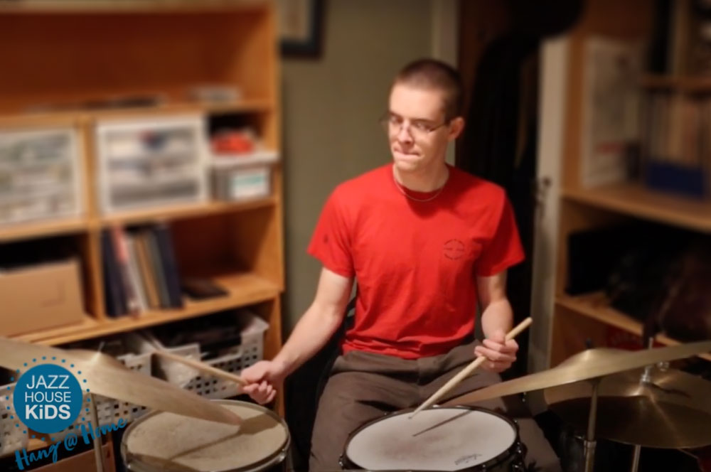 Student Spotlight Matthew Lee on drums