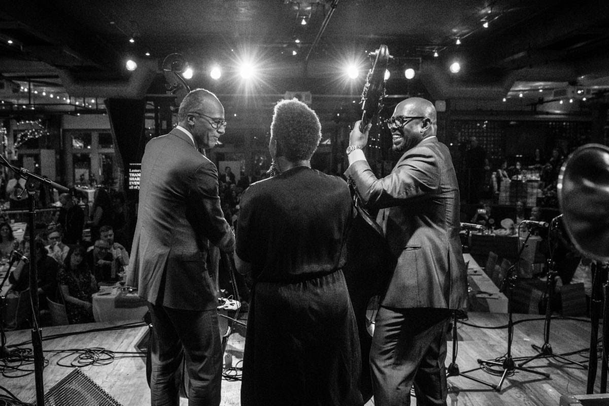 Lester Holt + Christian McBride on Bass