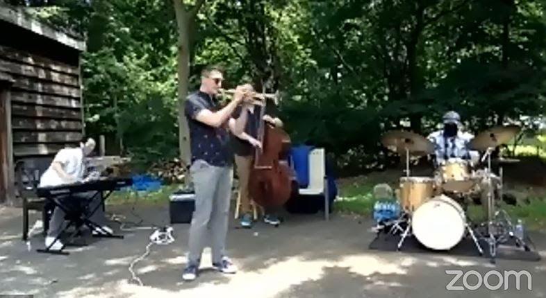 Jazz in July outdoor preformance