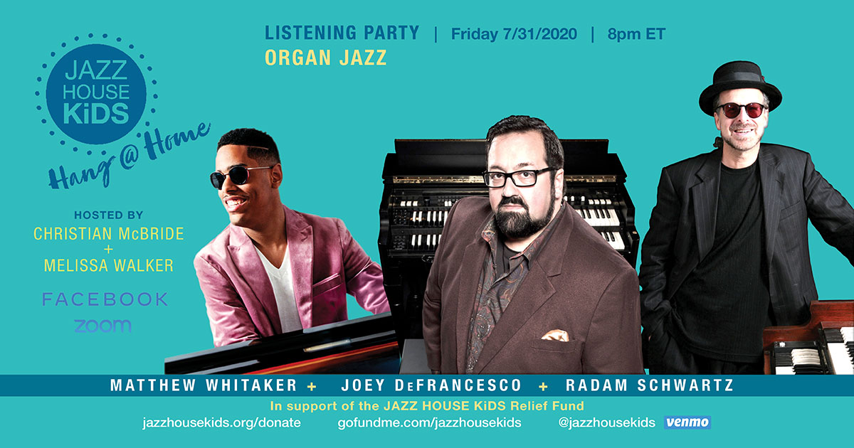 Organ Jazz Listening Party