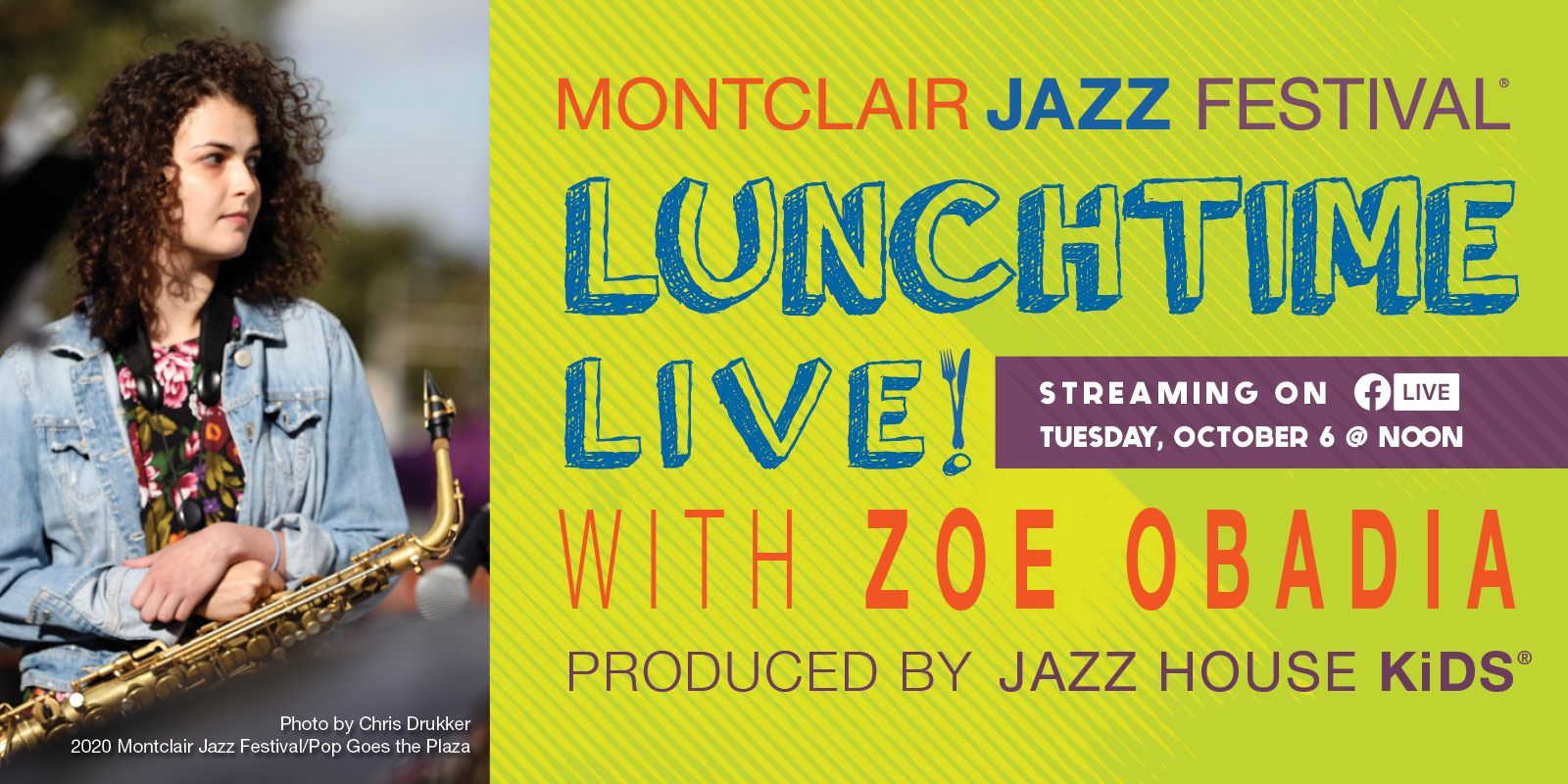 Lunchtime Live with Zoe Obadia