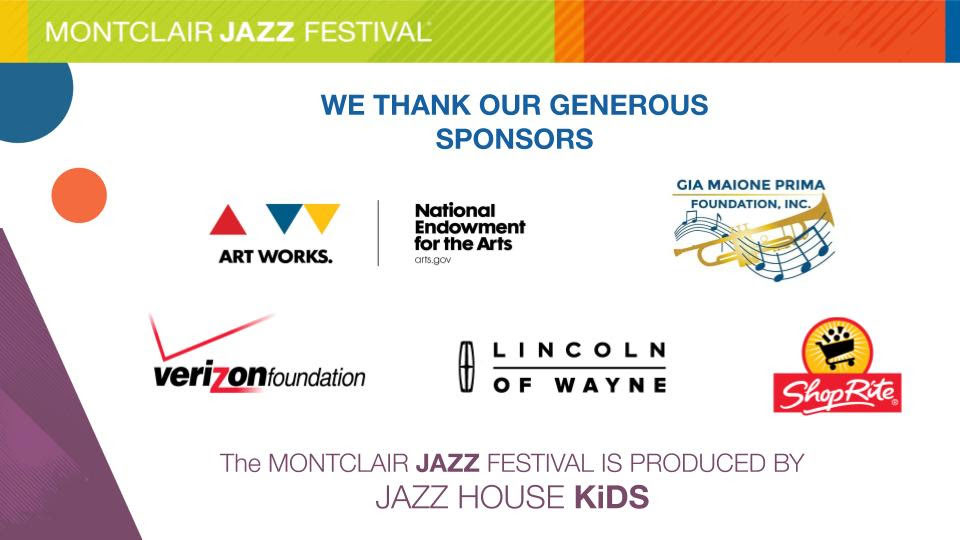 Best of Montclair Jazz Festival Sponsors