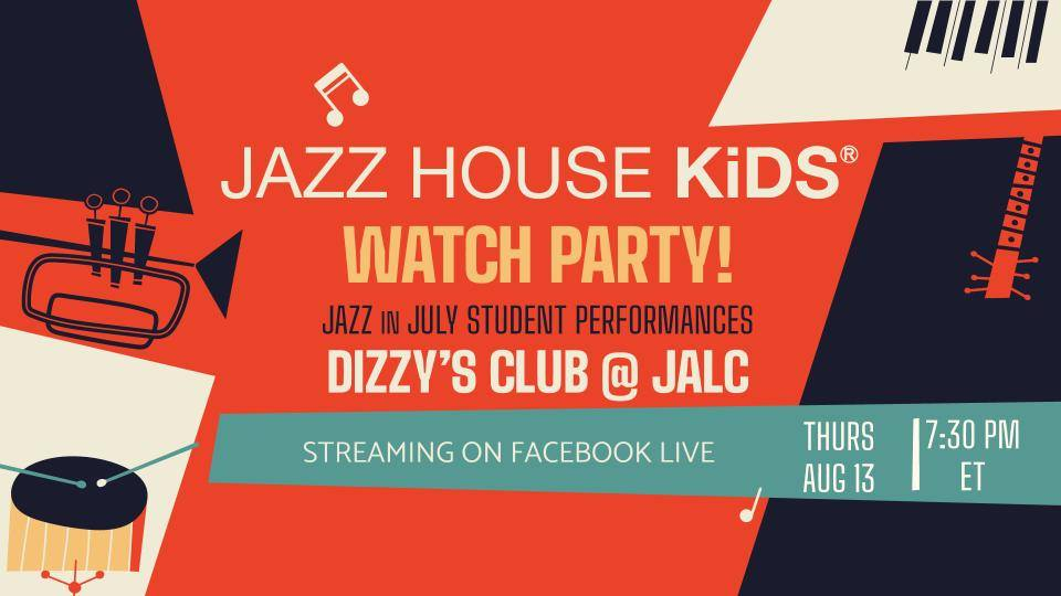 Jazz in July Watch Party at Dizzy Club, NY