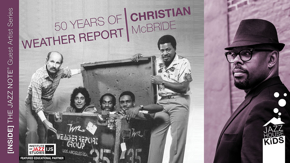 50 years of Weather Report with Christian McBride