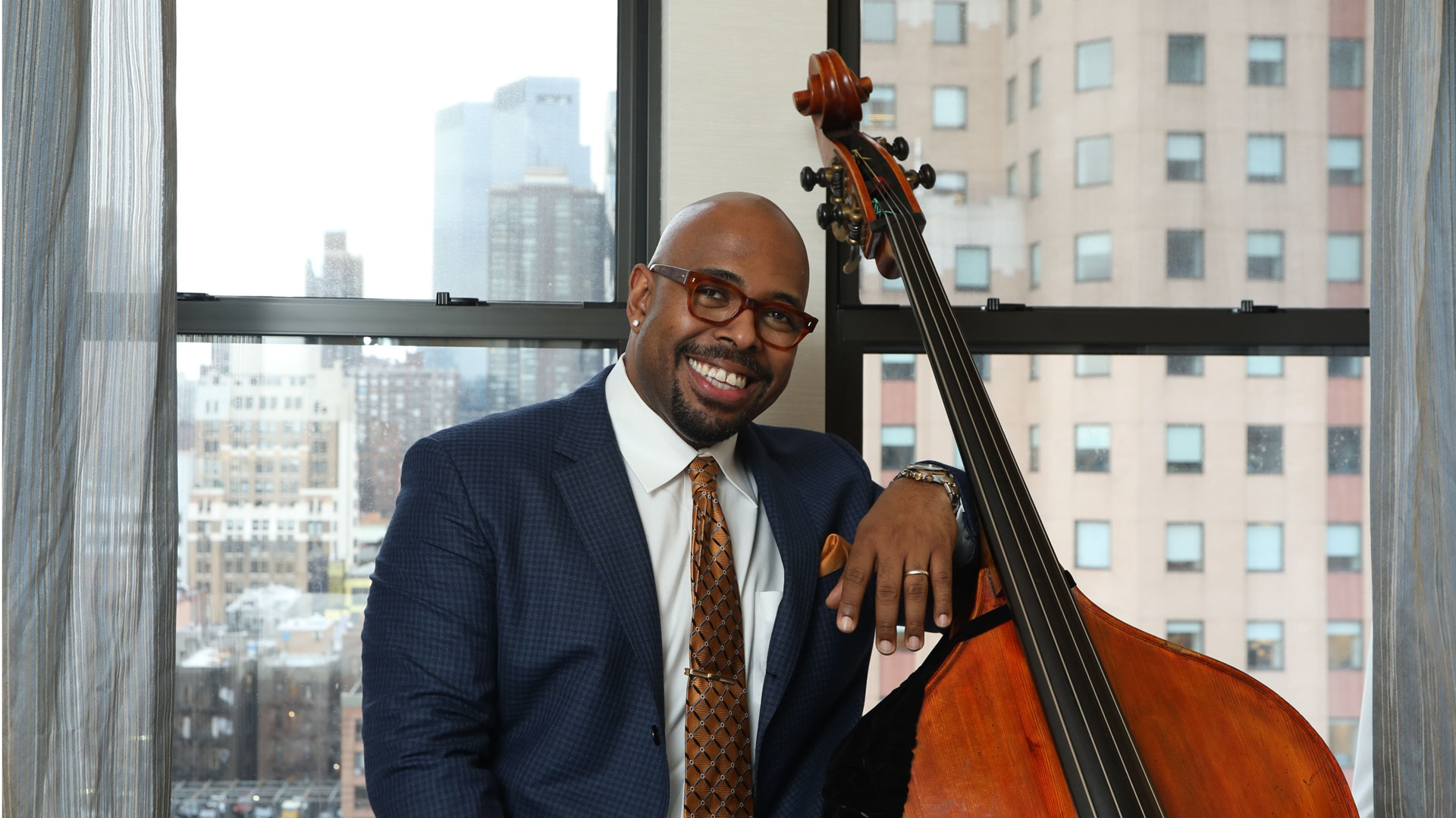 Inside the jazz note masterclass with Christian McBRide
