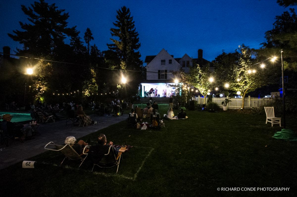 Jazz by Starlight: Beautiful backdrop in Montclair, NJ
