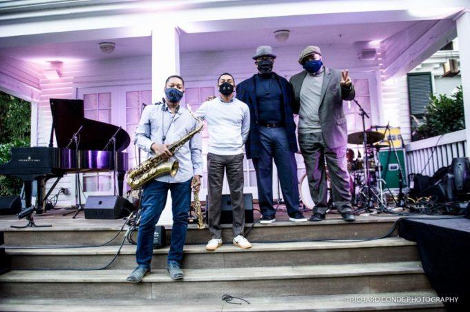 "Jazz by Starlight: Ravi Coltrane, Christian Sands, Christian McBride, Jeff ""Tain"" Watts"