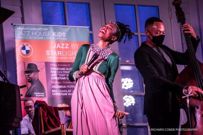 Jazz by Starlight: Jazzmeia Horn and bassist Eric Wheeler