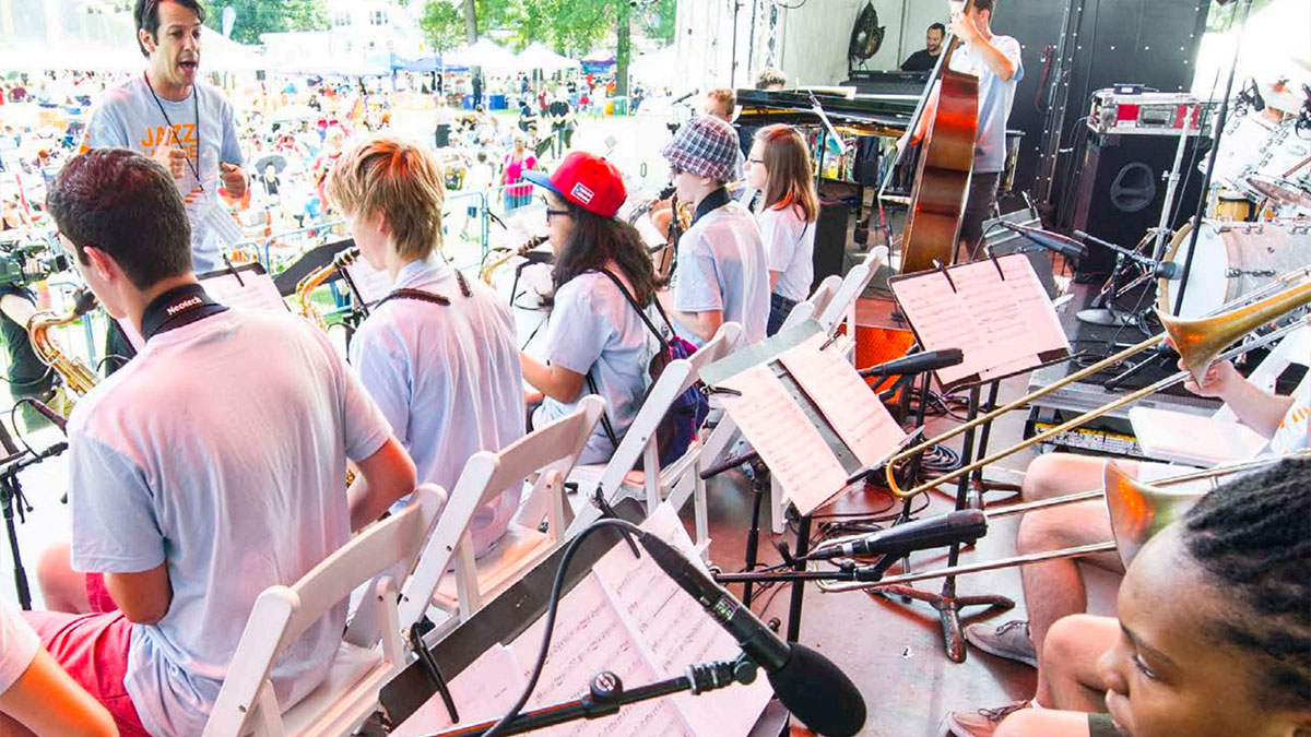 Summer Workshop at Montclair Jazz Festival
