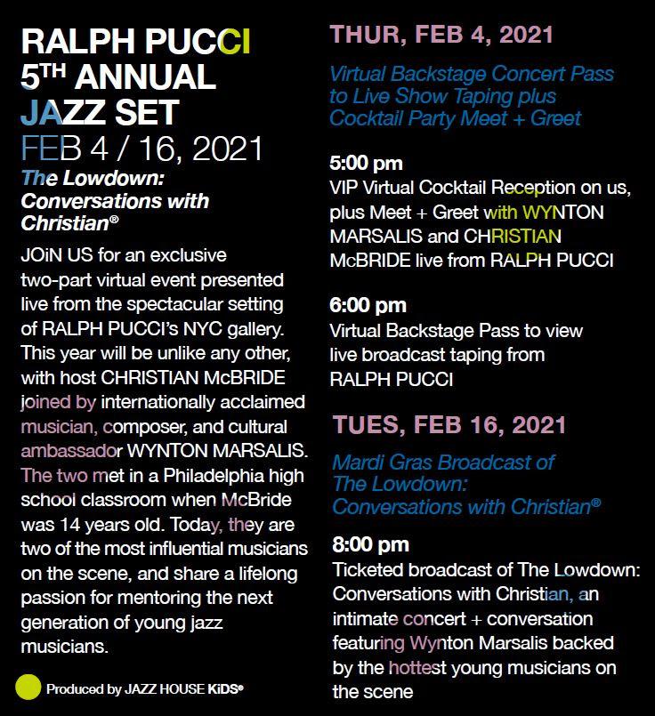 Ralph Pucci Jazz Set Details
