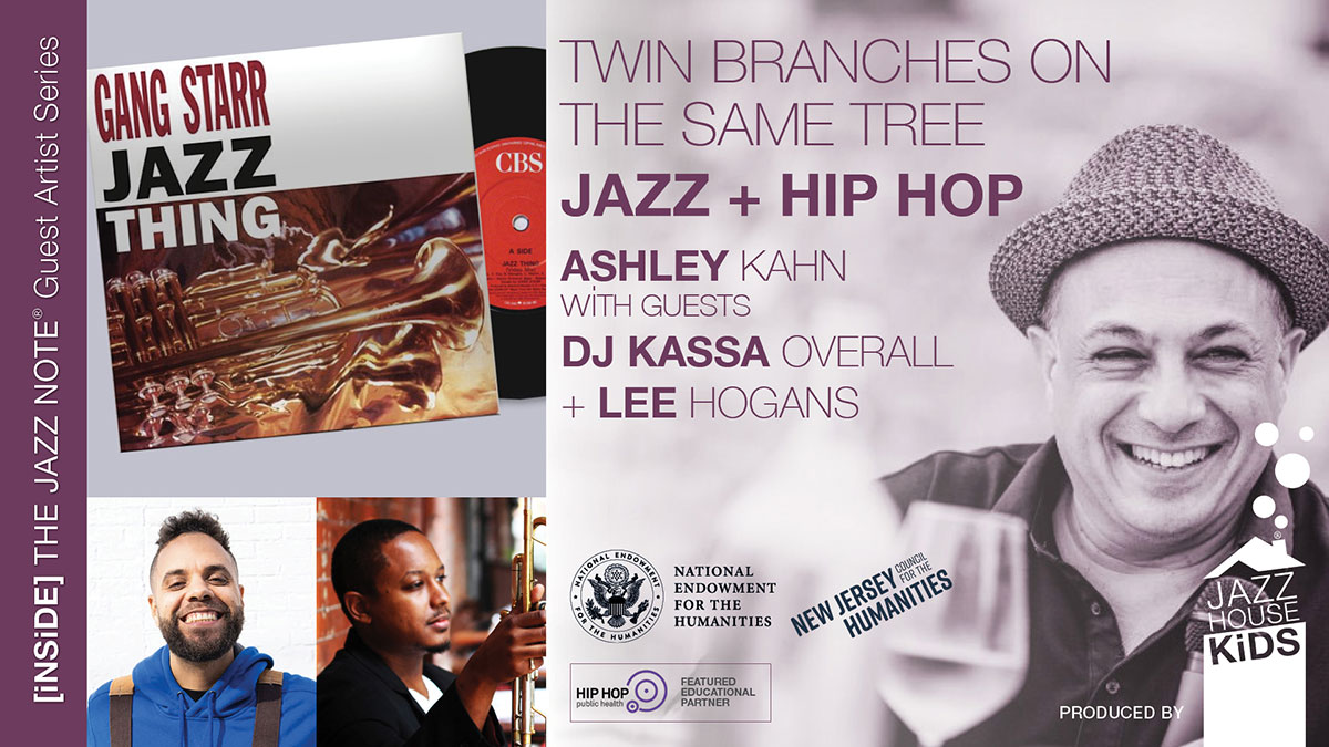 Jazz + Hip HOp with Ashley Kahn