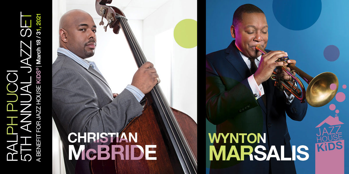 Ralph Pucci 5th Annual Jazz Set featuring Wynton Marsalis and Christian McBride