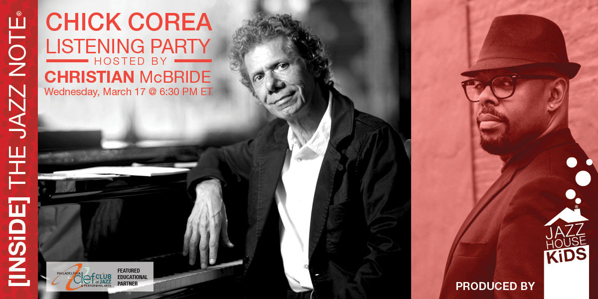 Chick Corea Listening Party with Christian McBride
