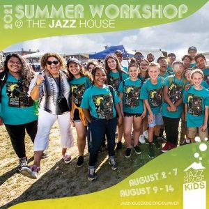 2021 Summer workshop at JAZZ hOUSE KiDS