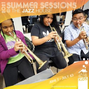 2021 Summer Sessions at JAZZ hOUSE KiDS