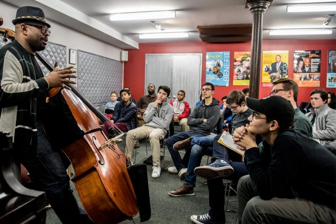 JAZZ HOUSE KiDS in School Masterclass with Christian McBride