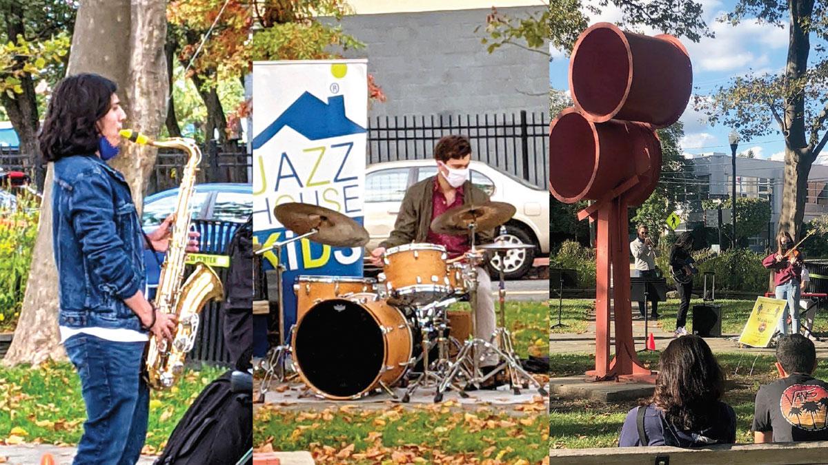 JAZZ jam sessions in Crane Park, Montclair, NJ